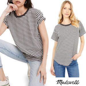 Madewell Striped Crew Neck T-Shirt